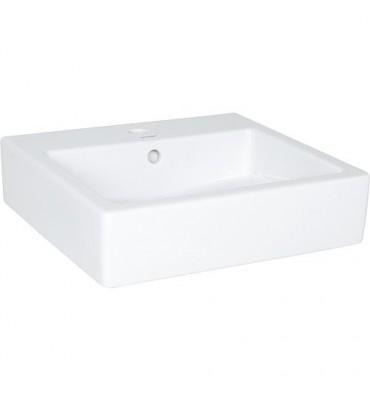 Vasque Duravit Vero, blanc avec trop plein, 500x470x175mm