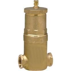 Separateur d air Discal Raccord de serrage 22 mm0 pour tube cuivre