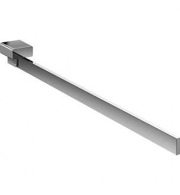 Porte-serviette Emco loft chromé, rigide 410 mm