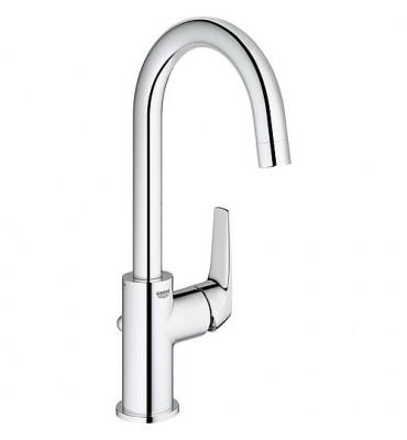 Mitigeur lavabo Bauflow L-Size avec commande latérale