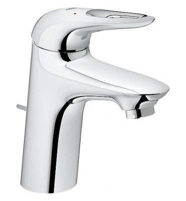 mitigeur lavabo Grohe Eurostyle, chromé, levier évidé