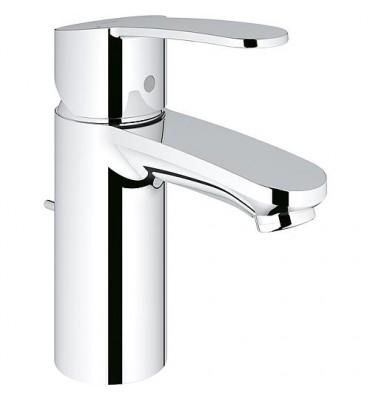 Mitigeur de lavabo Eurostyle C EcoJoy garniture d´écoulement à tirette,chromé