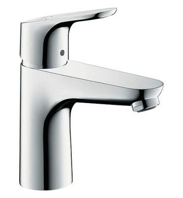 Mitigeur lavabo 100 Focus, chromé, DN15, ConfortZone 100, sans garniture d'écoulement