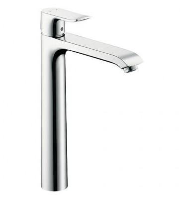 Mitigeur Metris pour lavabo sans garniture ecoulem., limiteur debit 51/min, chrome