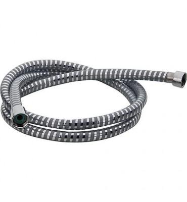"Flexible de douche Hansgrohe Type Metalflex C200 1/2""x1/2"" protection anti-plis"