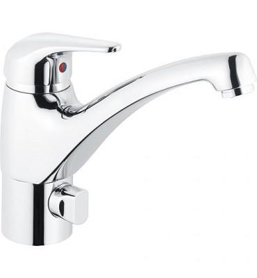 Mitigeur d´évier Xena avec vanne de raccordement lave-linge/vaisselle