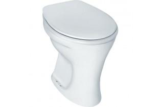 WC sur pied plat Eurovit lxPxH-355x475x390 mm-sortie horizontale ext.
