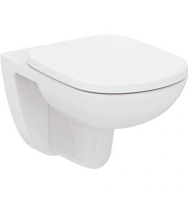 WC suspendu à fond creux Eurovit, sans bord de rinçage