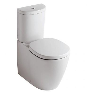 WC sur pied à fond creux Kombi, sortie horizontale masquée Connect Arc