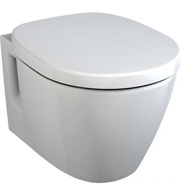 WC 'CONNECT ARC' - K C 001 WBUK lxPxH- 360x480x340mm - suspendu céramique blanc revetu Ideal Plus