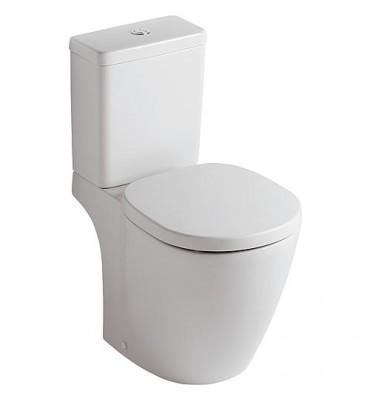 WC sur pied à fond creux Kombi, sortie extérieure horizontale Connect Arc
