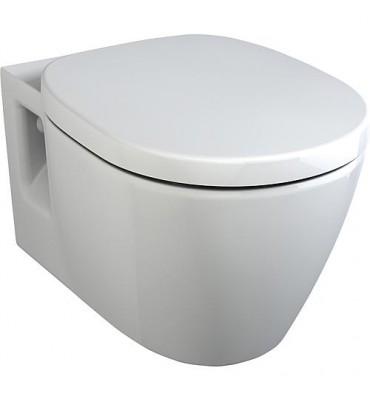WC 'CONNECT ARC' - K C 001 WBUK suspendu - céramique blanc lxPxH-360x540x340mm - revetu IdealPlus