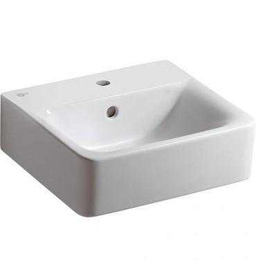 Lave-mains 'CONNECT CUBE'-K F 001 WK lxPxH- 400x360x160 mm céramique blanc