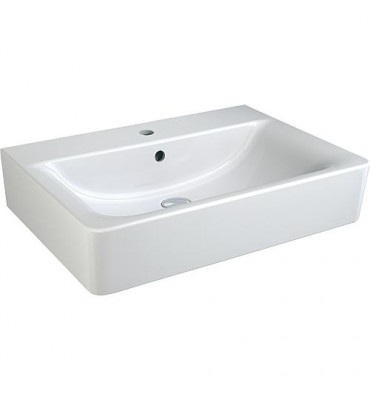 Lavabo 'CONNECT CUBE' - K F 001 WK lxPxH- 650x460x175 mm céramique blanc