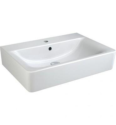 Lavabo 'CONNECT CUBE' - K F 001 WK lxPxH- 500x460x175 mm céramique blanc