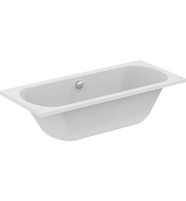 Baignoire Duo EROK acrylique blanc - 265L lxPxH- 1800x800x465 mm