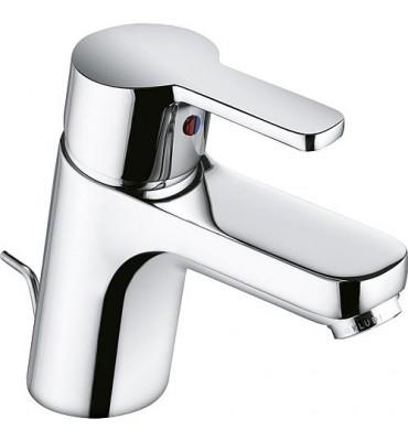 "Mitigeur lavabo Kludi Logo Neo, chrom, avec garniture d'ecoulement 1 1/4"", Flexibles sanitaire"