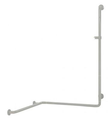 Douchette avec barre de douche couleur : blanc 19 763x763x1158mm/fixation incluse