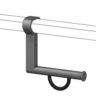 Porte rouleau poignée maintien pour poignées 93 780 16/17/19/20 alu ant-métal95