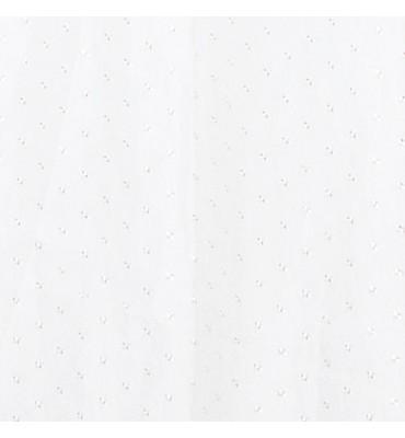 Rideau de douche 100% polyester 3000x2000mm - blanc 19 avec structure