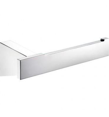 Porte-rouleau SAM Cuna métal chromé - largeur 150 mm sans couvercle - fixation cachée