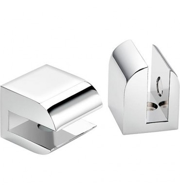 Console Sam way sans etagere, 1 paire, chrome