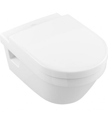 Pack combi V&B Architectura WC suspendu Direct Flush + abattant WC Softclose, blanc
