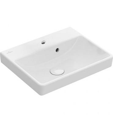 Vasque V&B Avento 450x370x150, trop-plein, blanc