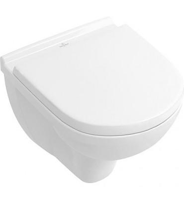 Pack WC Villeroy Boch O. NOVO WC suspendu compact+ Abbattant Softclose Blanc