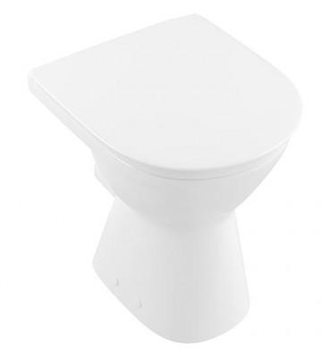 WC sortie horizontale V+B O.Novo Vita, 355x460x490mm. blanc