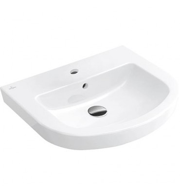 Vasque ovale Subway 2.0 blanche avec trop-plein et trou Lxl - 490x600mm