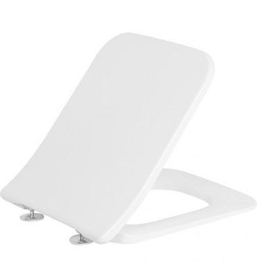 Abattant WC Venticello Slimseat, blanc avec renvoi rapide et Softclose Charniere inox