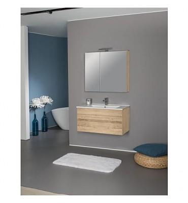Kit meuble salle de bain EGAN série MAF Asteiche