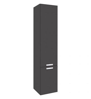 colonne serie MBB 2 portes anthracite mat butée à droite 350x1625x370mm