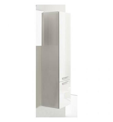 Meuble haut, série MBB, 2 portes blanc brillant, butée droite 350x1625x370 mm