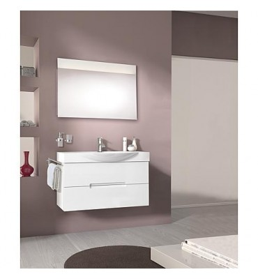 Kit meuble de salle de bain EMILA série MAE blanc mat *BG*
