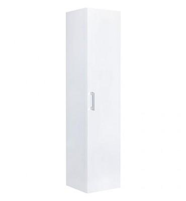Armoire haute serie MAA 1 porte blanc brillant, ouverture droite lxHxP 350x1585x370 mm