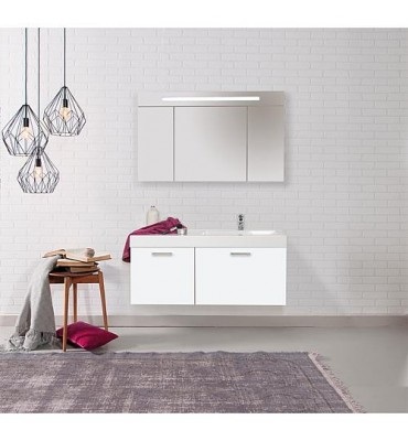 Kit de meuble EMPI blanc brillant Serie MAA