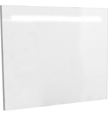 Miroir avec eclairage dans cache, tube LED 10 Watt 900x720mm