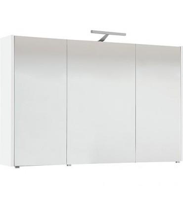 Armoire a glace avec éclairage blanc brillant et 3 portes 1050x750x188 mm