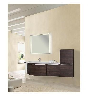Kit meuble salle de bain ENURI série MBB chêne foncé Decor *BG*