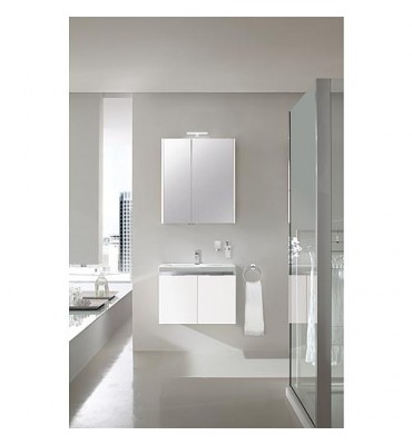 Kit de meubles EOLA blanc mat largeur 700mm 2 portes