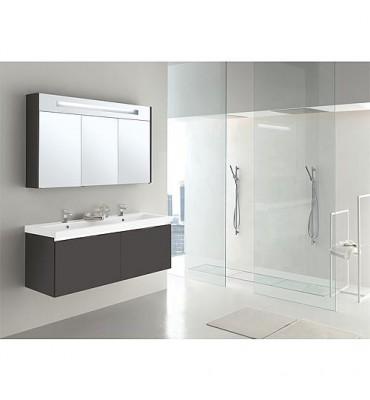 Lit de meuble de bain EPIX MBH anthracite mat 2 tiroirs
