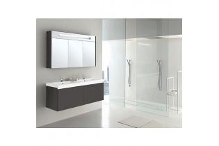 Meuble de salle de bain EPIC Serie MBH anthracite brillant