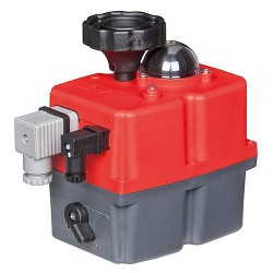 Servoteur pour vanne à boisseau sphérique motorisée, type EH140 230V