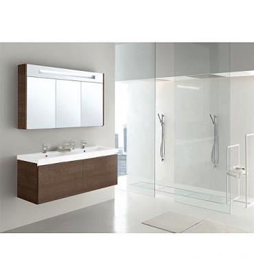 Meuble de salle de bain EPIC Serie MBH Tranche brun