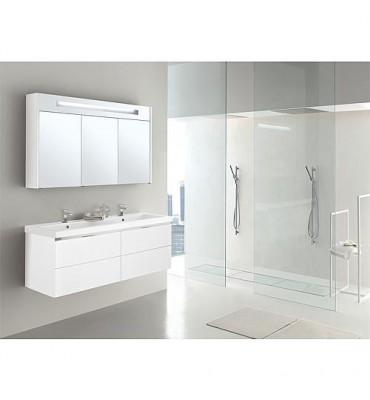 Kit de meubles de bain EPIC MBH blanc mat 4 tiroirs