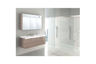 Kit de meuble de bain EPIC MBH tranche ecru 4 tiroirs