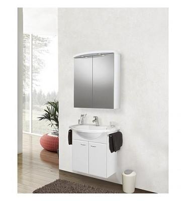 Kit meuble ETANA Serie MAC blanc brillant