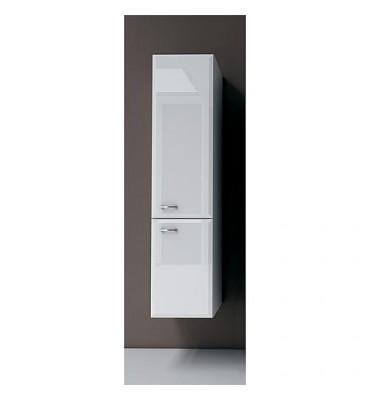 Meuble haut Serie Mac 2 portes blanc brillant ouverture droite lxHxP 300x1277x320x mm